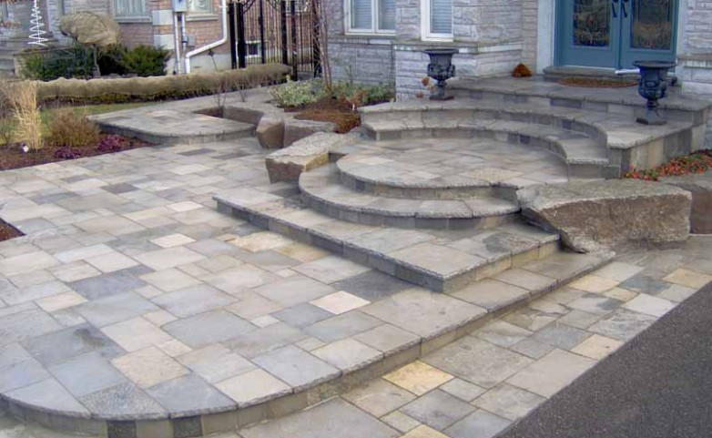 Natural stone halifax landscaping service Natural stone walkways