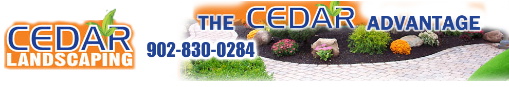 Halifax Landscaping Service – CedarLandscaping.Ca is a high quality landscaping company located in Halifax HRM, Nova Scotia.